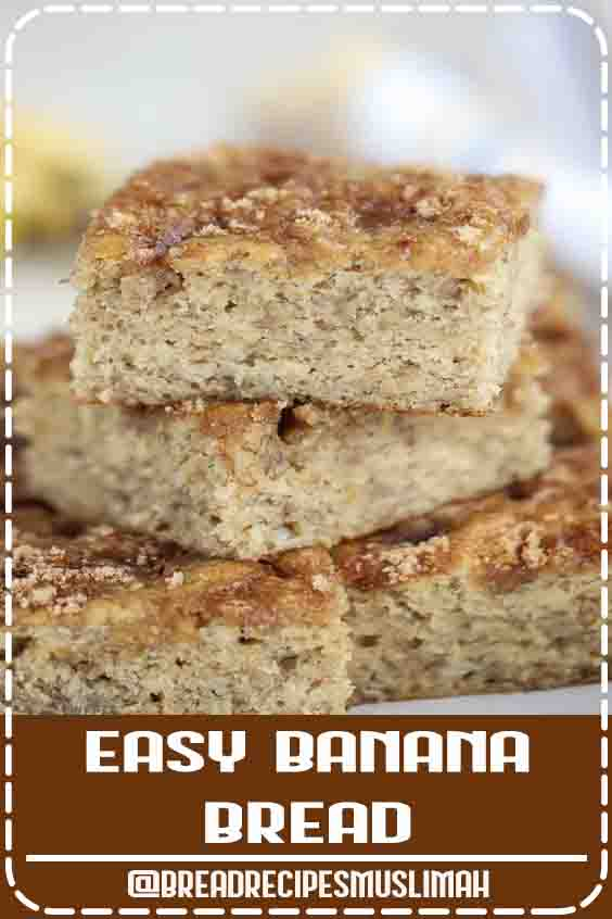 This easy BROWN SUGAR BANANA BREAD is the best banana bread we have ever tasted! Baked in a cake pan for fast and even cooking (loaf pan and muffin options, too). #Bread #Recipes #easy #dessert