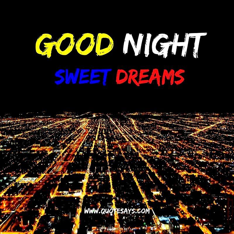 Good Night Lights of City