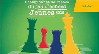 Le bulletin n°1 du tournoi d'échecs