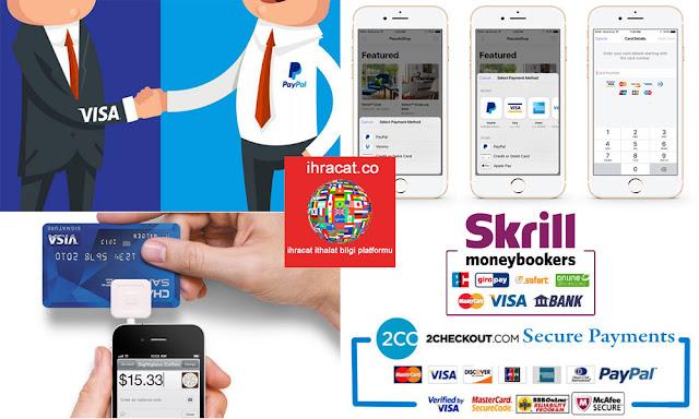 online ödeme firmalar