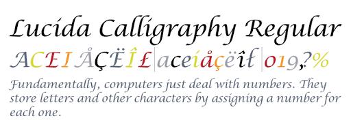 Font Untuk Sertifikat