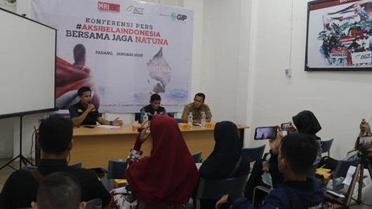"""Pemko Padang Apresiasi Kepedulian ACT dalam """"Aksi Bela Indonesia, Bersama Jaga Natuna"""""""
