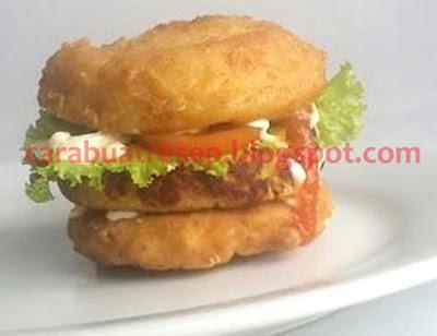 Foto Resep Burger Tahu Malang