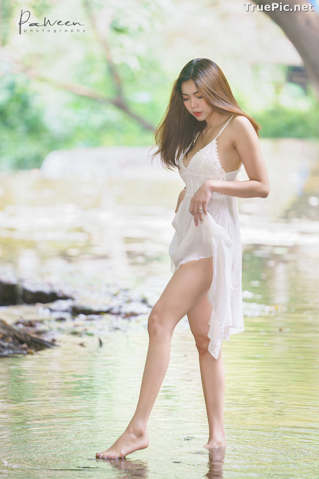 Image Thailand Model - Sirirut Thananet - Beautiful Angel and Small Stream - TruePic.net - Picture-2