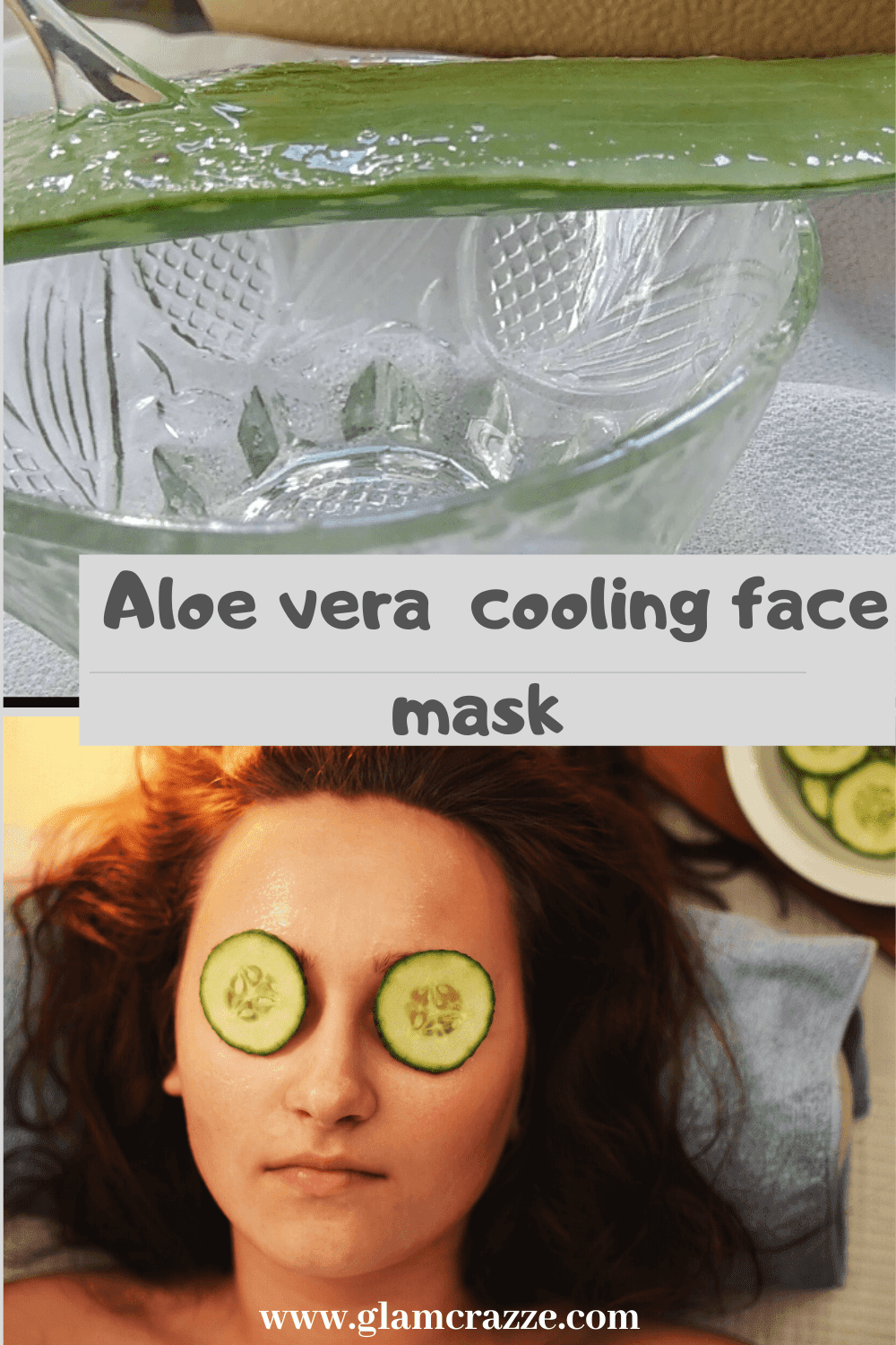 How to use aloe vera hydrating mask on face