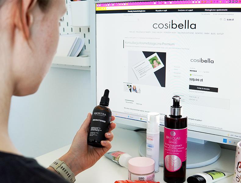 Potrzebujesz porady Kosmetologa? Zrób to online!