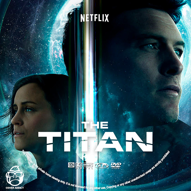 The Titan DVD Label