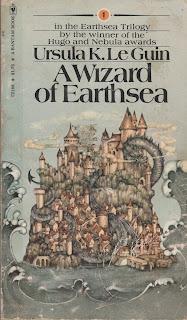 Portada de A Wizard of Earthsea  por Ursula Le Guin