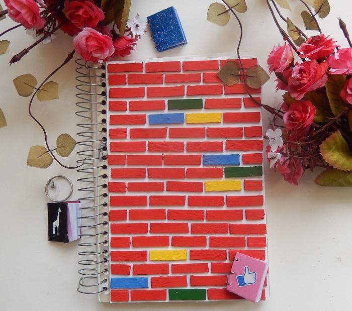 caderno estiloso