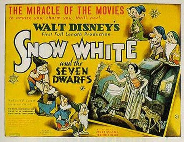 Snow White and the Seven Dwarfs 1937 animatedfilmreviews.filminspector.com