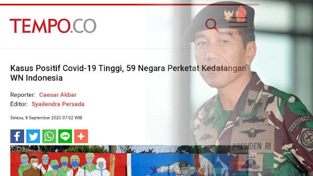 Era Pak Jokowi, Indonesia Kini Jadi Negara yang 'Ditakuti'