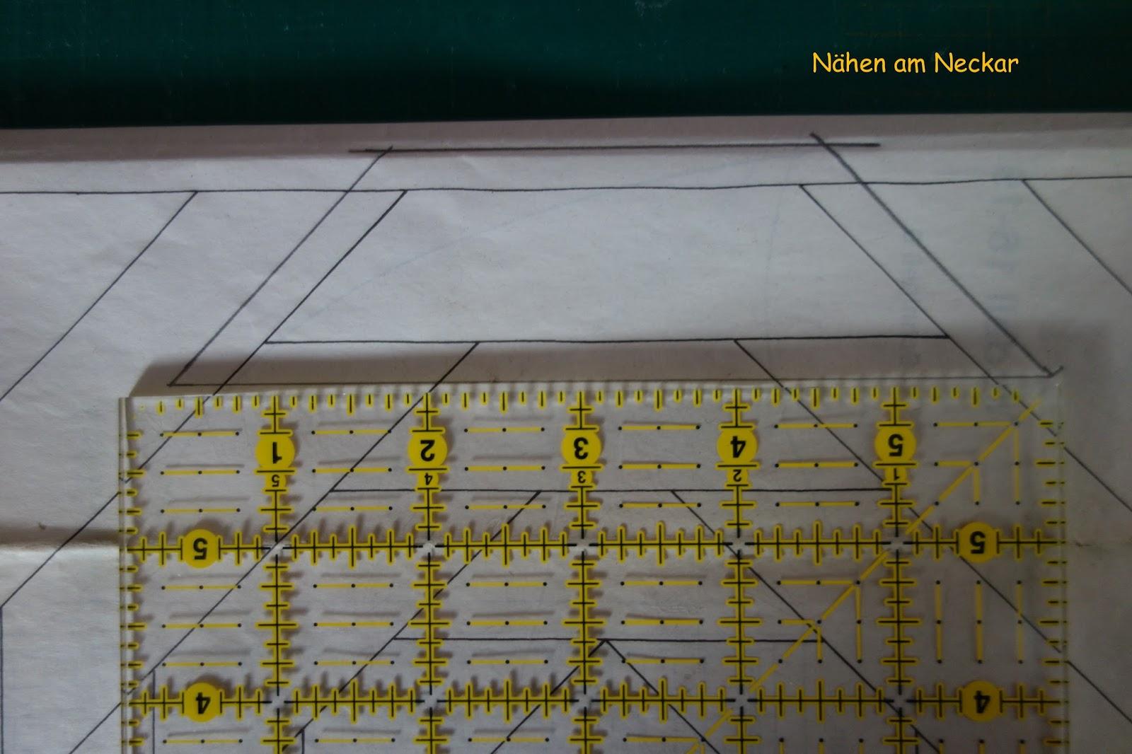 NÄHEN AM NECKAR: Pineapple-Muster die ersten Blöcke