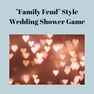 Wedding Shower Family Feud Game