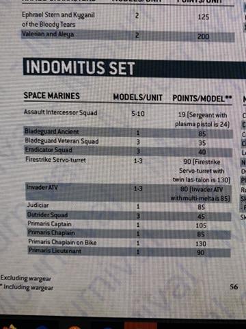 puntos marines indomitus