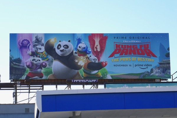 Kung Fu Panda Paws of Destiny billboard