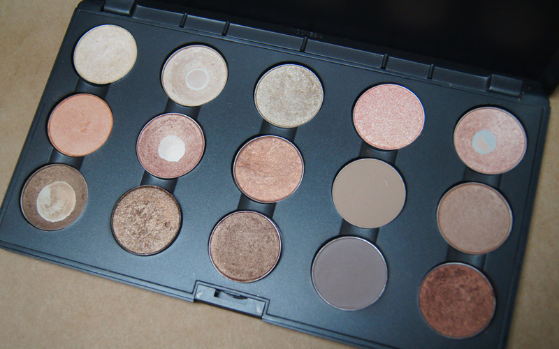 mac eyeshadow collection review swatches neutral palette
