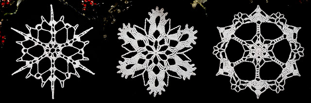 Free Snowflakes Patterns & Video Tutorials