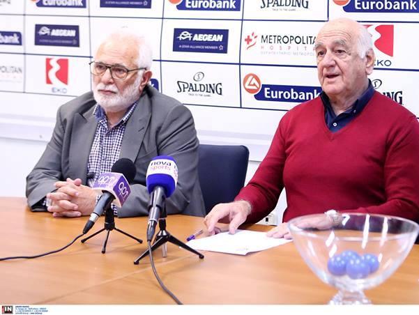 Ο Ερμής Αγιάς στην Α1 Ανδρών-Τι δήλωσαν Γολέμης και Τσαγκρώνης στην κλήρωση των Εθνικών Πρωταθλημάτων και Κυπέλλων