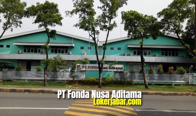 Lowongan Kerja PT Fonda Nusa Aditama Jababeka