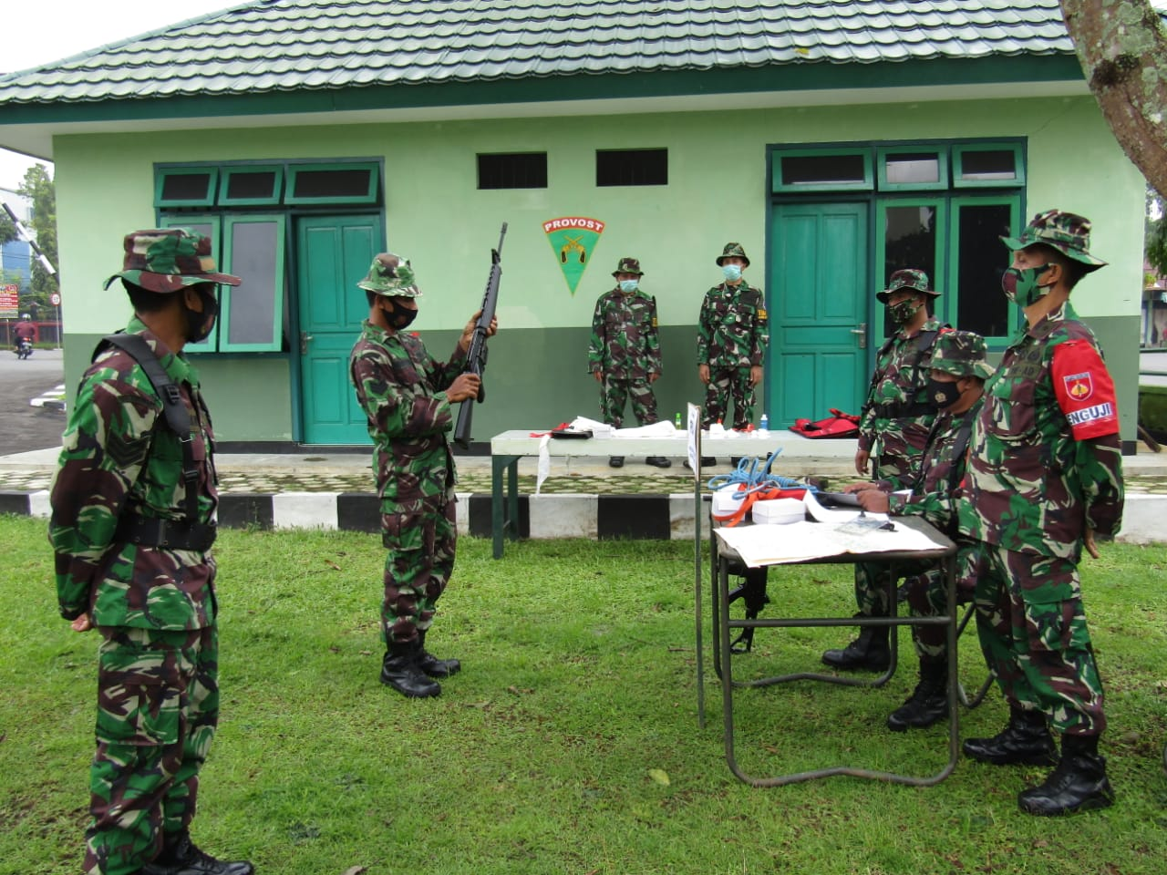 Meski Masih Pandemik, Program Latihan  Anggota Kodim 0702 Purbalingga Tetap Berjalan