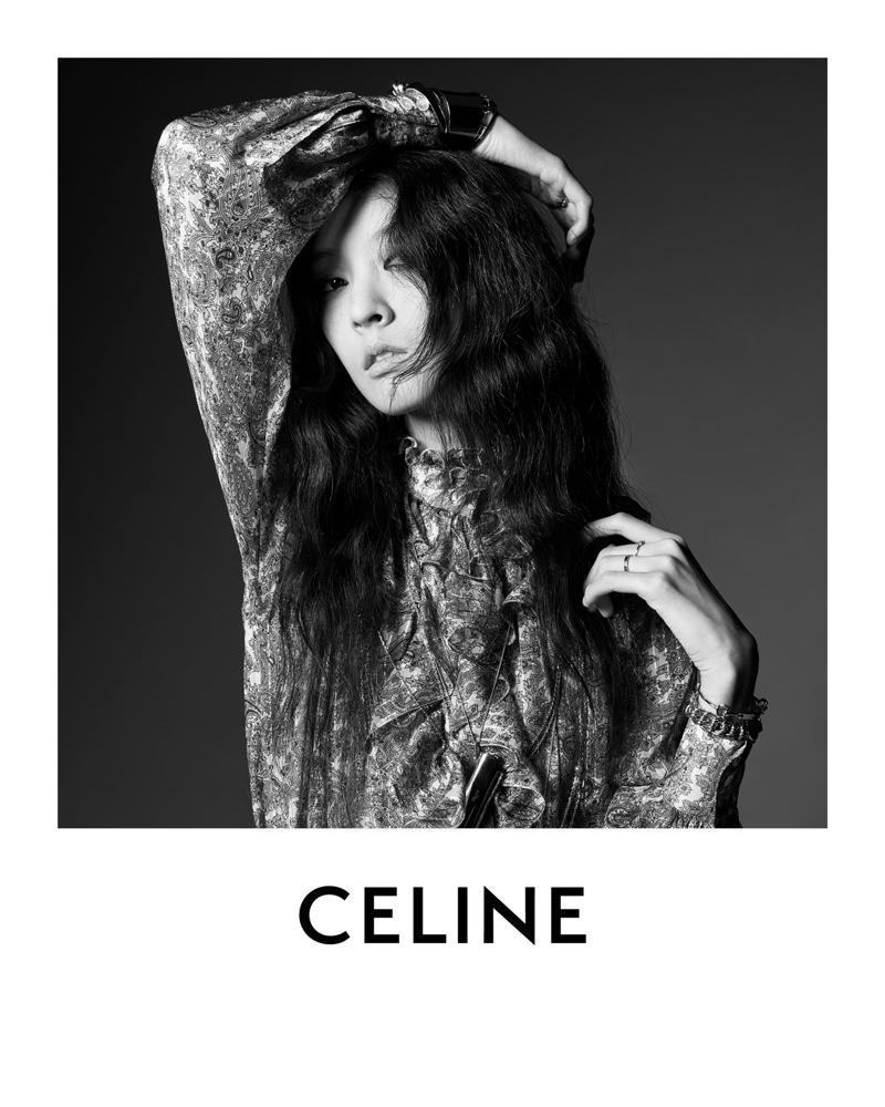 Celine Portrait by Hedi Slimane