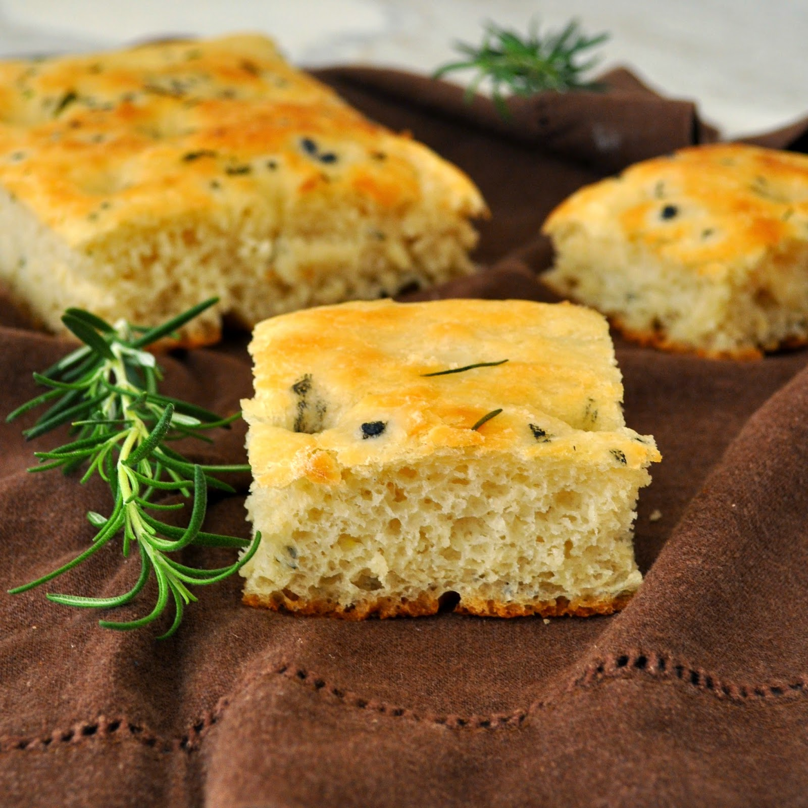 ... Manuela: Homemade Traditional Italian Focaccia Bread with Rosemary