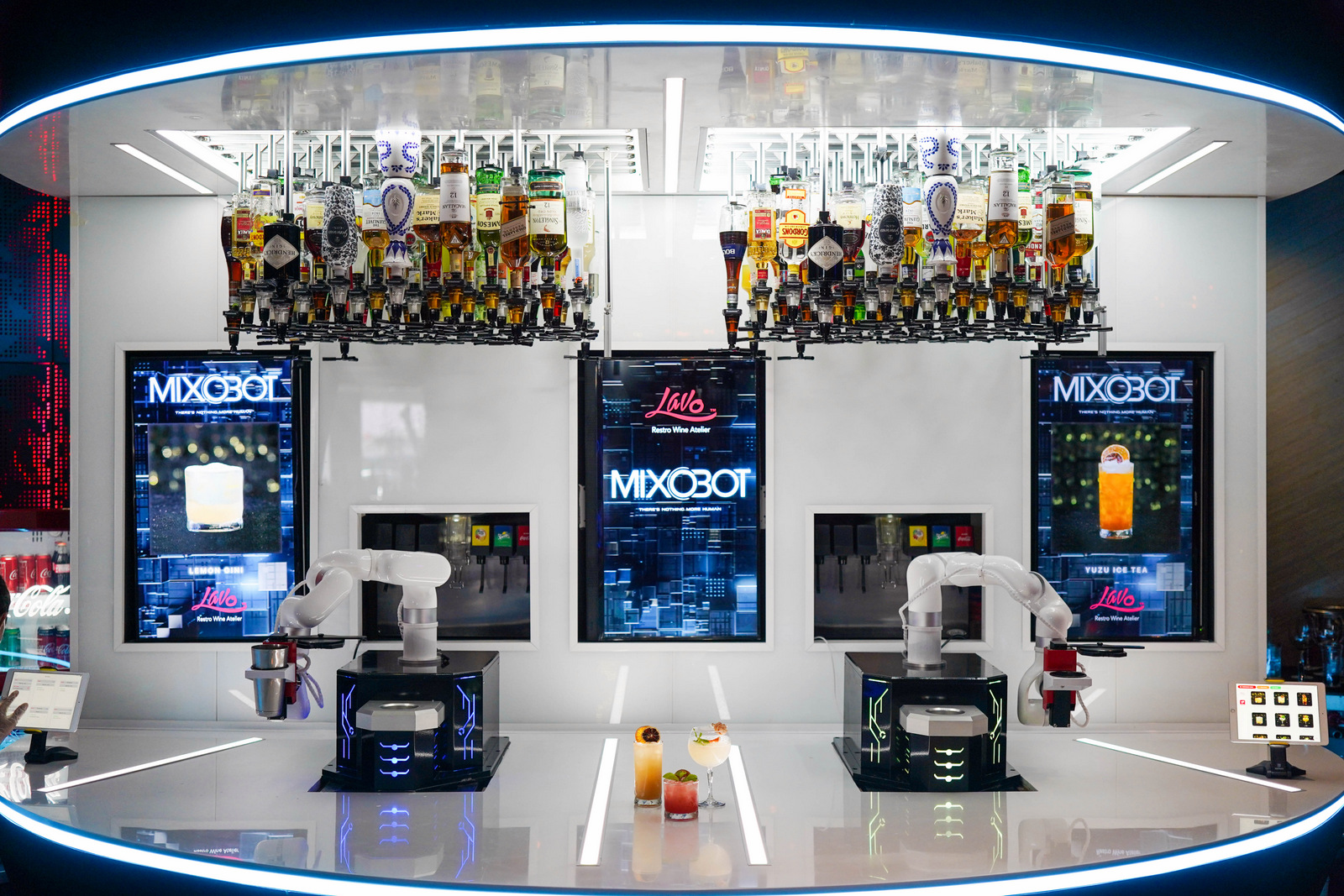 MixoBot: Malaysia's first robot mixologist shakes up a cocktail storm at Petaling Jaya's LAVO