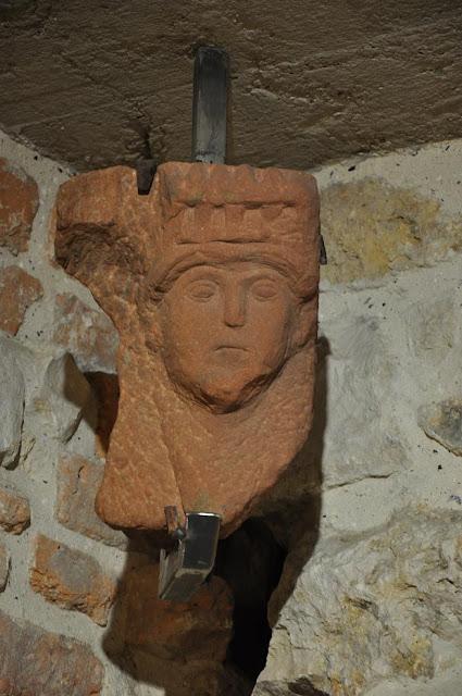Opactwo benedyktyńskie w Tyńcu - lapidarium