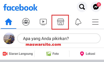 cara posting jualan di marketplace facebook