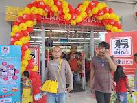 Hari Pertama, Grand Opening Super Indo Supermarket di Metro Lampung Diserbu Pengunjung.!!