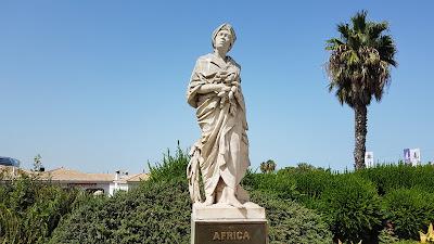 statua dell'africa