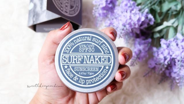 review sensatia botanicals surf naked sunscreen - sephora