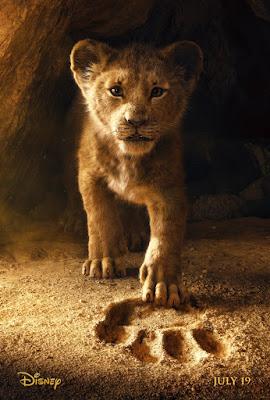 O Rei Leão Live-action Simba Pôster