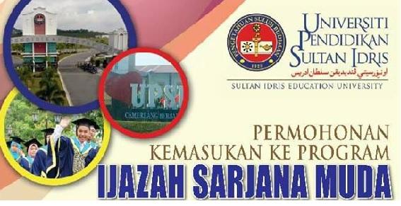 Permohonan UPSI kemasukan Februari 2018