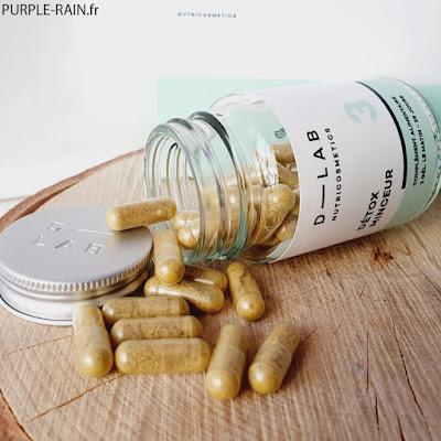 Blog PurpleRain : D-LAB Nutricosmetics 3 - Détox Minceur