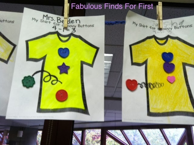 Fabulous Finds For First Pete The Cat Groovy Button Subtraction