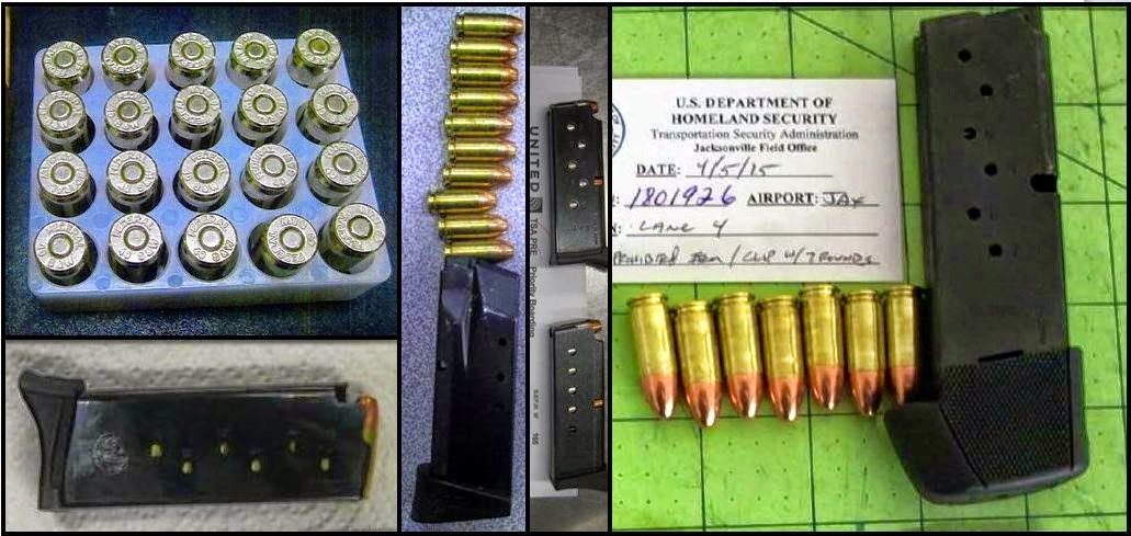 Ammunition Discovered In Carry-on Bags This Week