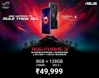 ROG PHONE 3 price in India