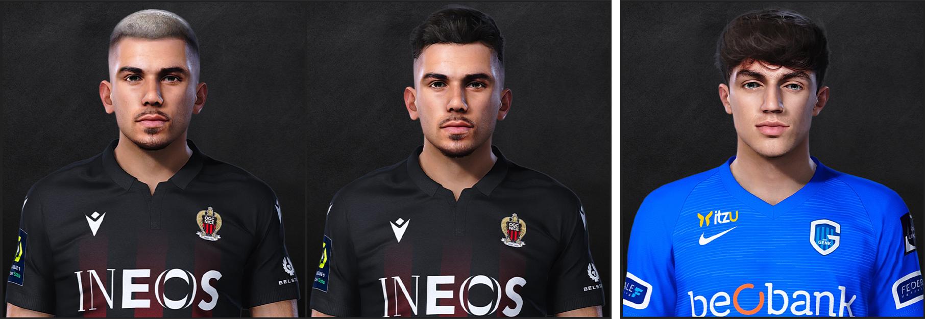 PES 2021 Faces Lucas Da Cunha & Luca Oyen