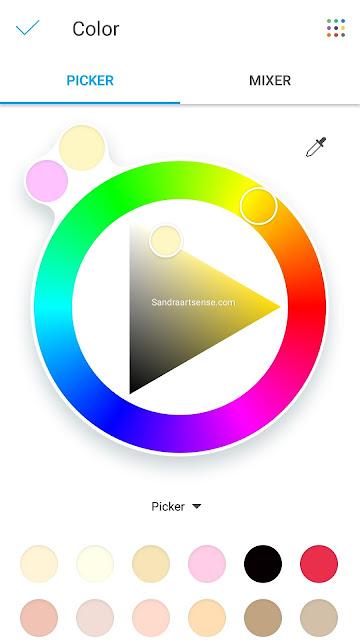 Menggambar di HP Android Pakai Aplikasi Picsart Color Paint