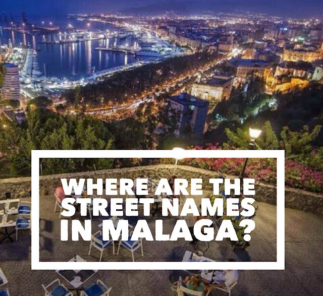 Street Names Malaga