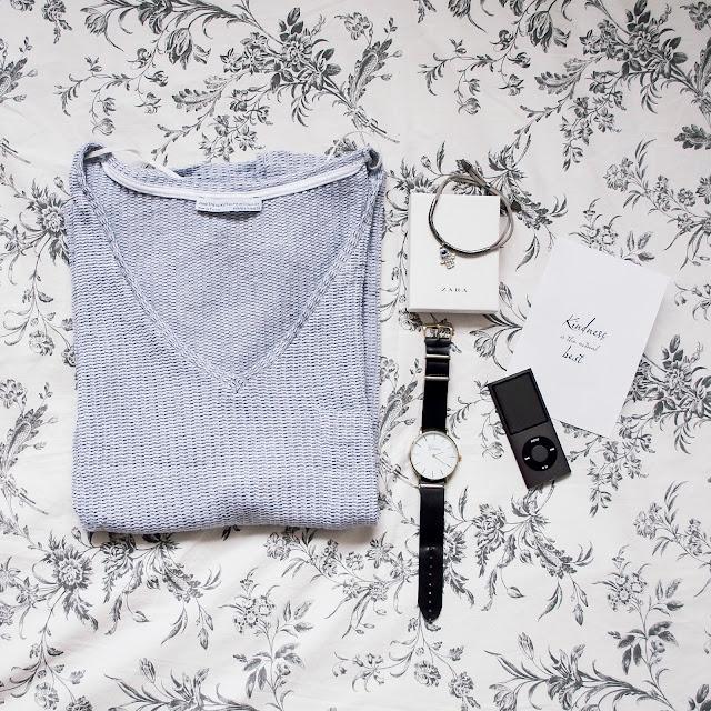 Flatlay outfit Zara