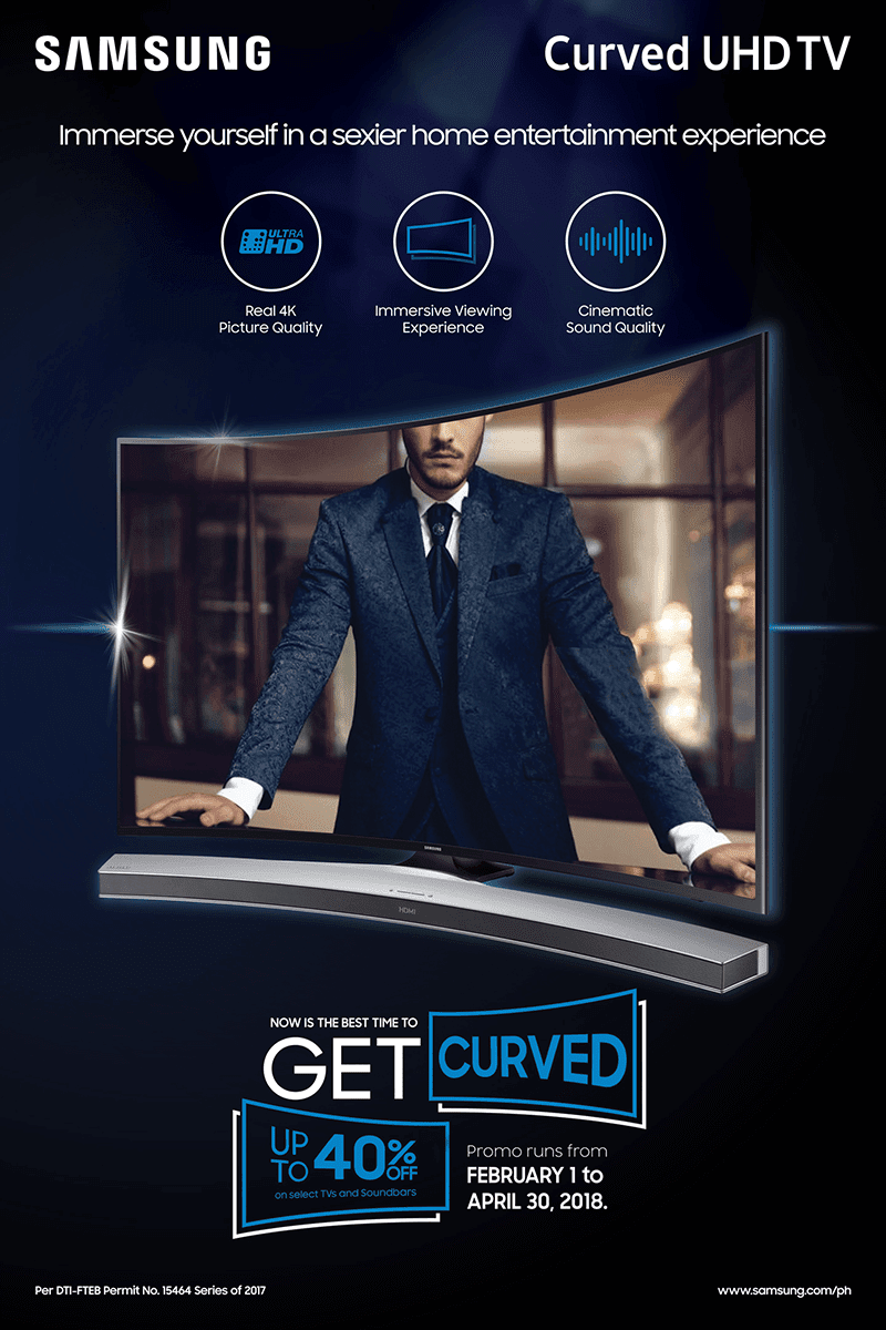 Samsung Curved UHD TV and Soundbar new promo announced