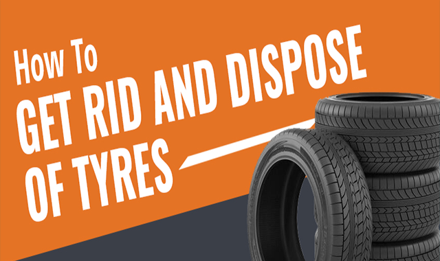 How To Get Rid And Dispose Of Tyres #infographic