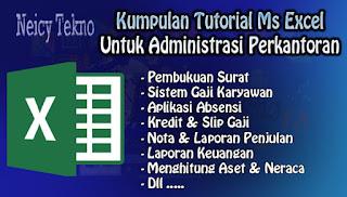 Tutorial Excel Untuk Administrasi Perkantoran
