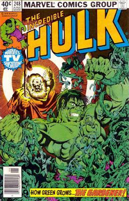 Incredible Hulk #248, the Gardener