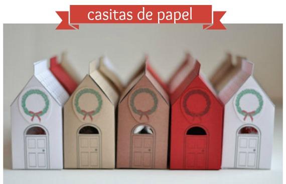En casa de t a gretel casitas de papel para regalar - Que regalar para una casa ...