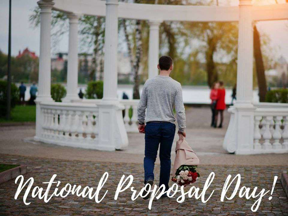 National Proposal Day Wishes Awesome Picture