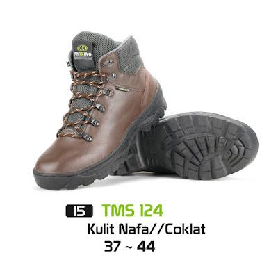 Sepatu Boot Hiking Kulit TMS 124