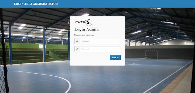 Pemesanan Lapangan Futsal Berbasis Web